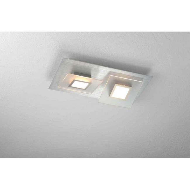 bopp frame led deckenleuchte 2 flammig 36180209 leuchtenking. Black Bedroom Furniture Sets. Home Design Ideas