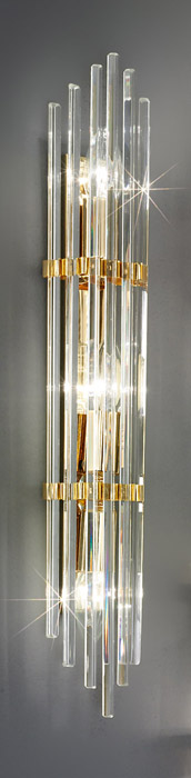 für die Küche von KOLARZ Leuchten Austrolux Wandleuchte Ontario 24k vergoldet 0342.63.3