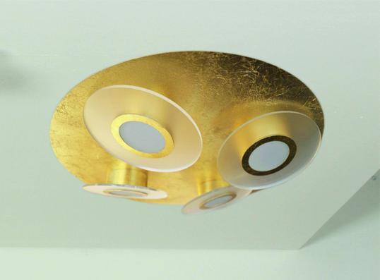 bopp rondo led deckenleuchte 4 flammig rund 52600309 leuchtenking. Black Bedroom Furniture Sets. Home Design Ideas