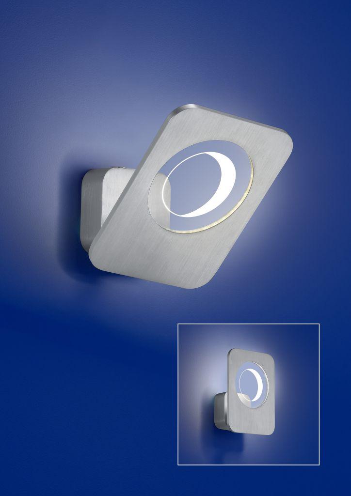 B-Leuchten Artikel von B-Leuchten Trocadero LED-Wandleuchte 40158/1-05