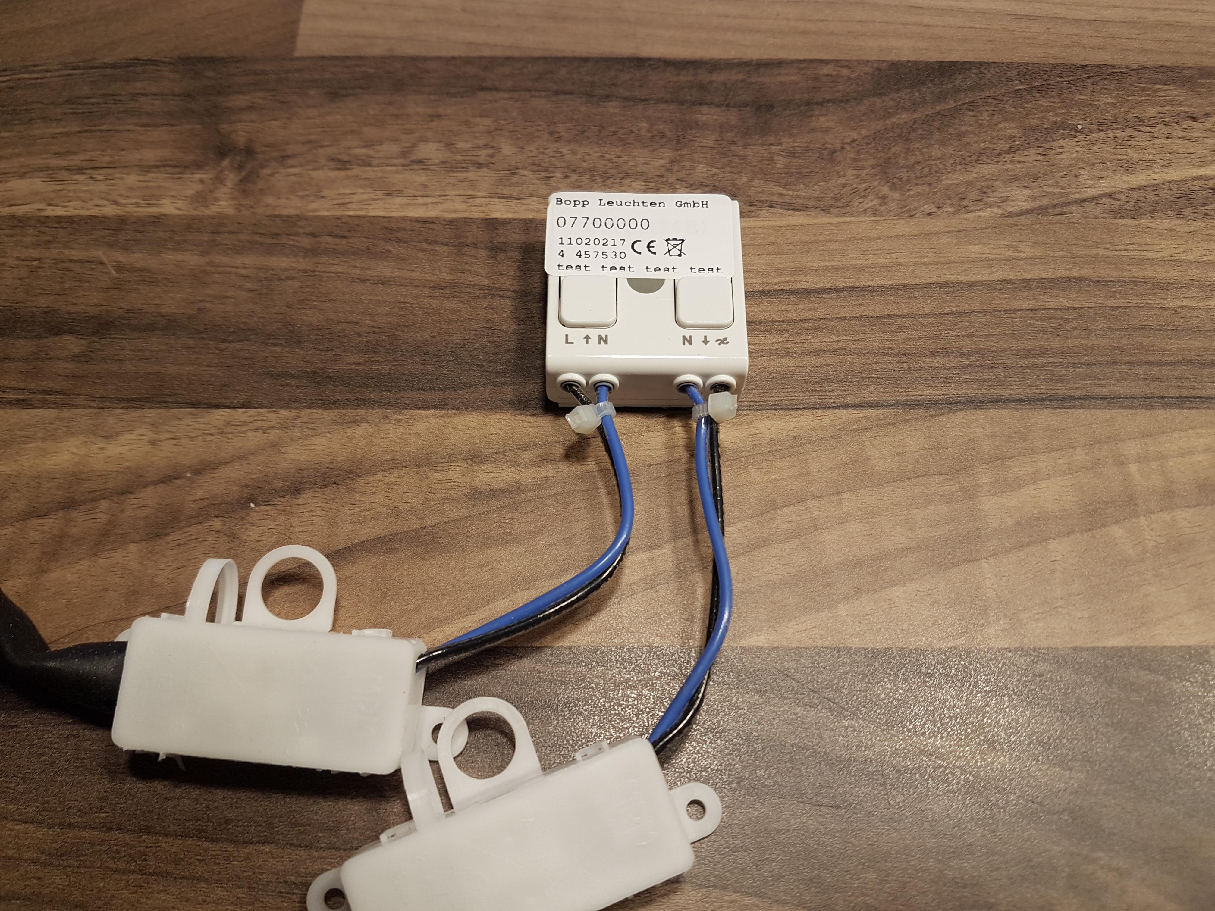 Dimmer von Bopp Leuchten CASAMBI Bluetooth- Nachrüstmodul für Leuchten von Bopp mit LED-Modulen 07700000