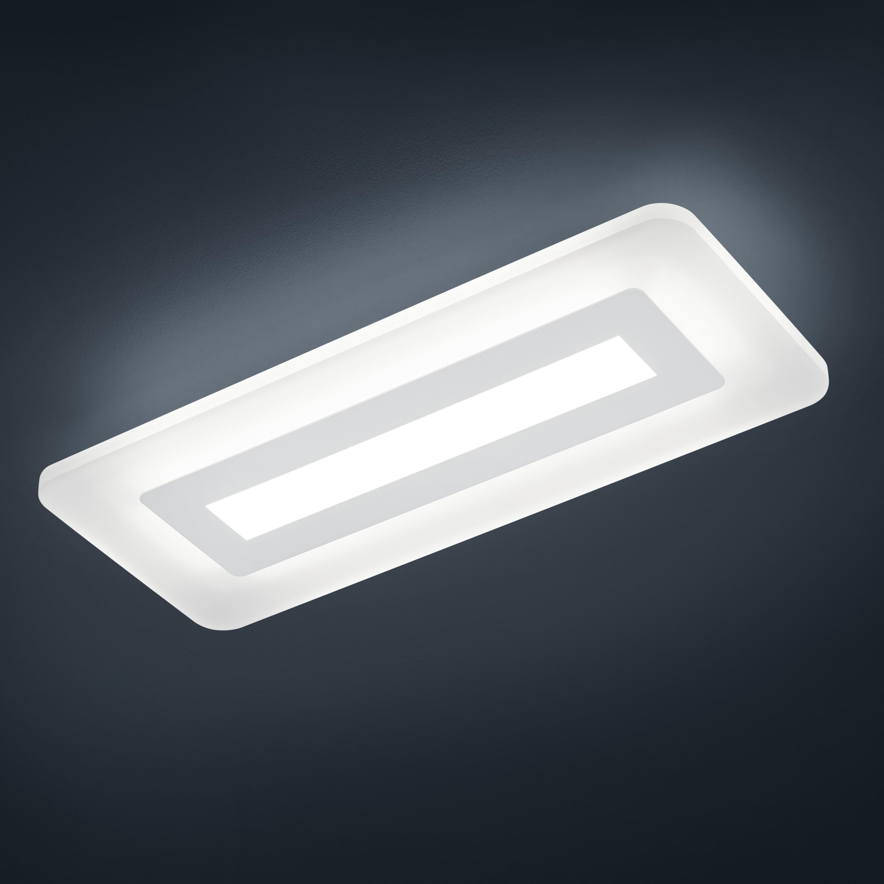 LED-Deckenleuchten von Helestra Leuchten WES LED- Deckenleuchte 25/1665.07