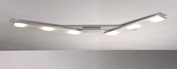 fürs Bad von Bopp Leuchten SLIGHT LED Deckenleuchte 6 flammig flexibel 46180609