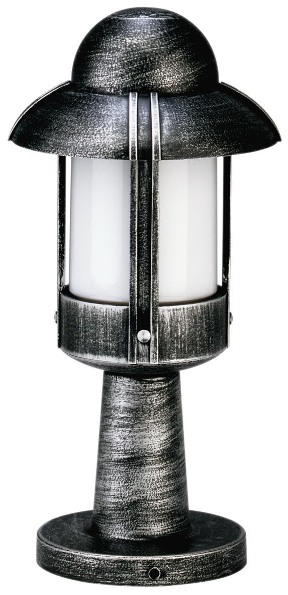 Bodenleuchten von Albert Leuchten Sockelleuchte, Alu, schwarz-silber 600530