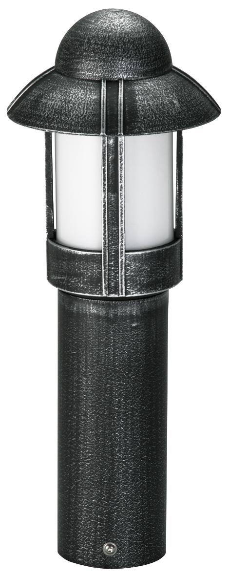 Bodenleuchten von Albert Leuchten Sockelleuchte, Alu, schwarz-silber 600531