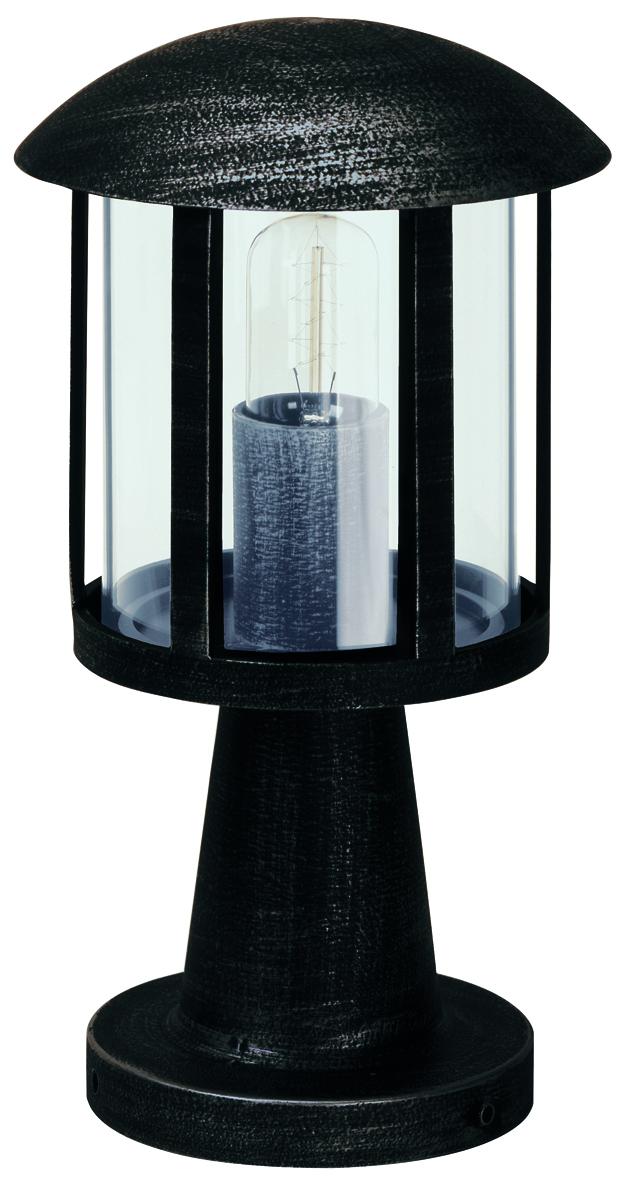 Bodenleuchten von Albert Leuchten Sockelleuchte, Alu, schwarz-silber 600542