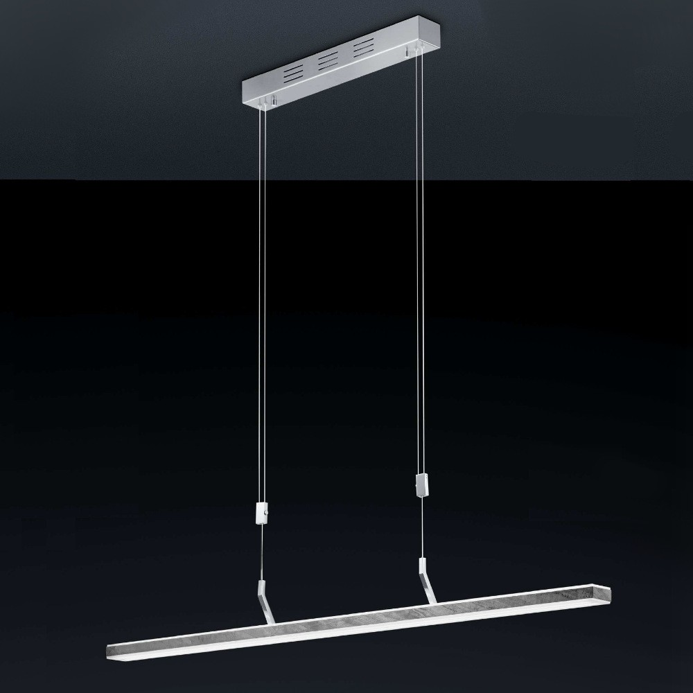 Hängeleuchten von BANKAMP Leuchtenmanufaktur LED-Pendelleuchte Gaya-Stone 2062/1-75