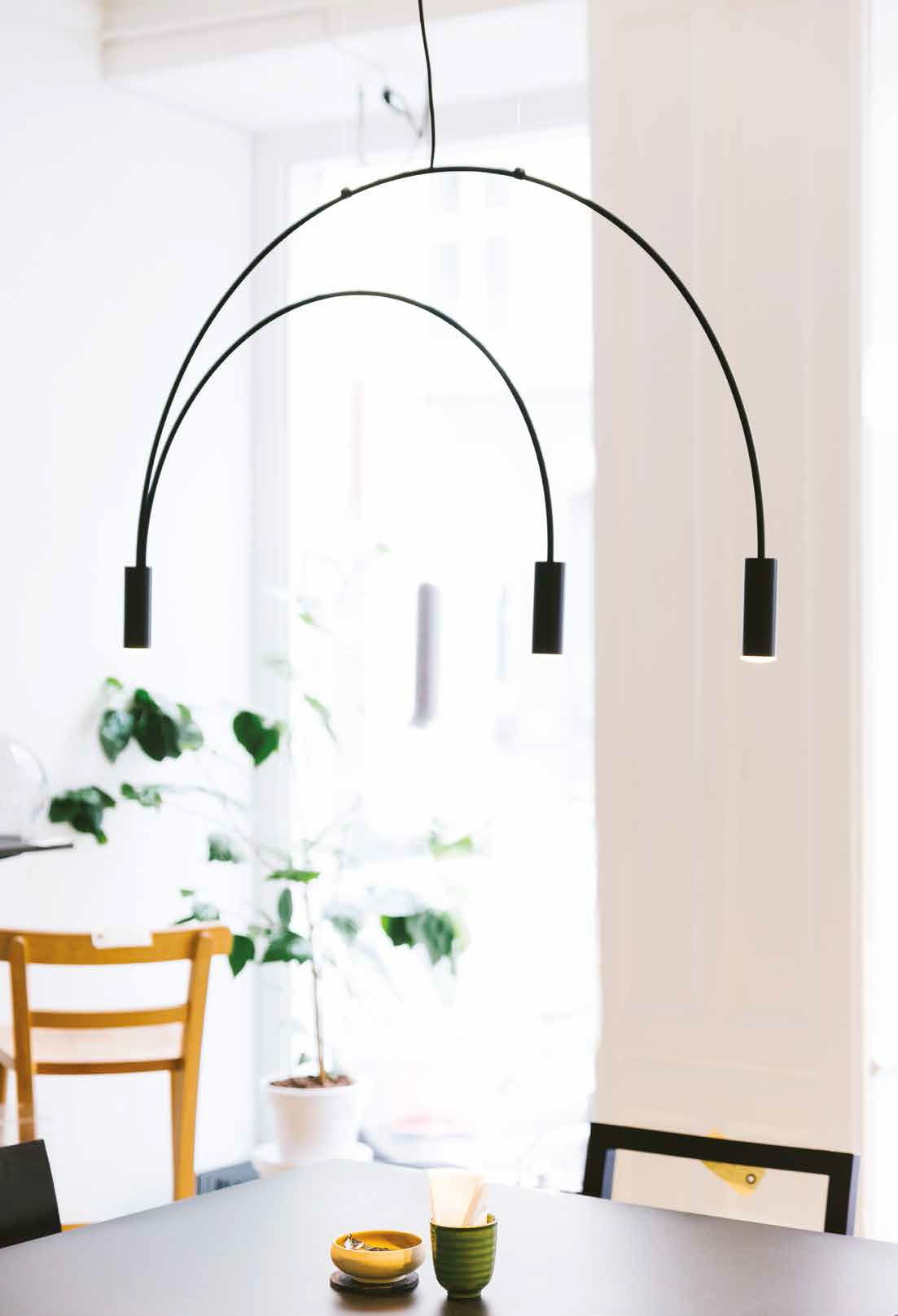 Volta LED-Hängeleuchte - Lagerräumung - von ESTILUZ Leuchten