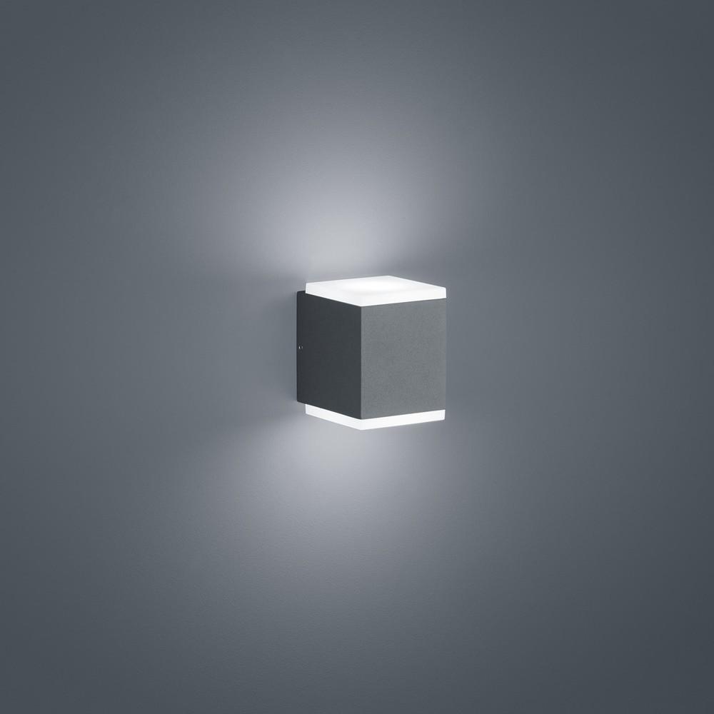 Aussenleuchten von Helestra Leuchten KIBO LED Wandleuchte A28612.93