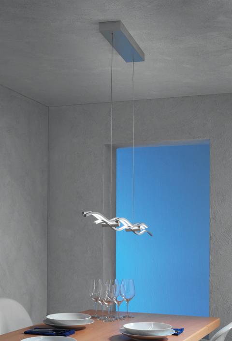 Escale Leuchten Artikel von Escale Leuchten SILK LED Hängeleuchte / klein 40160109