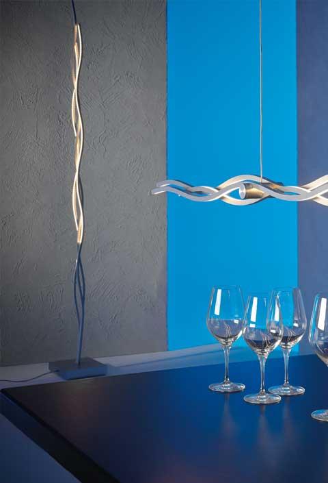 Escale Leuchten Artikel von Escale Leuchten SILK LED-Stehleuchte 40140009