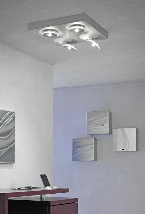 SPOT IT LED Deckenleuchte 4 flammig von Escale Leuchten