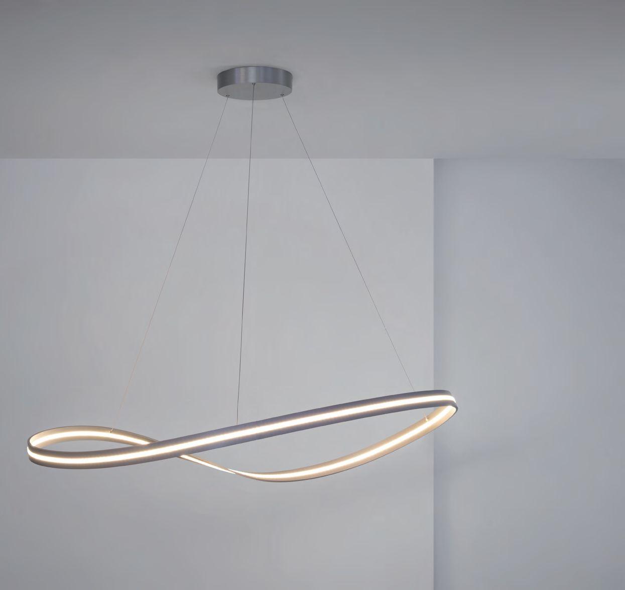 Infinity LED Hängeleuchte von Escale Leuchten