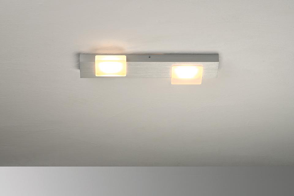 Bopp Leuchten Artikel von Bopp Leuchten Lamina LED-Deckenleuchte 2-flammig 60480209