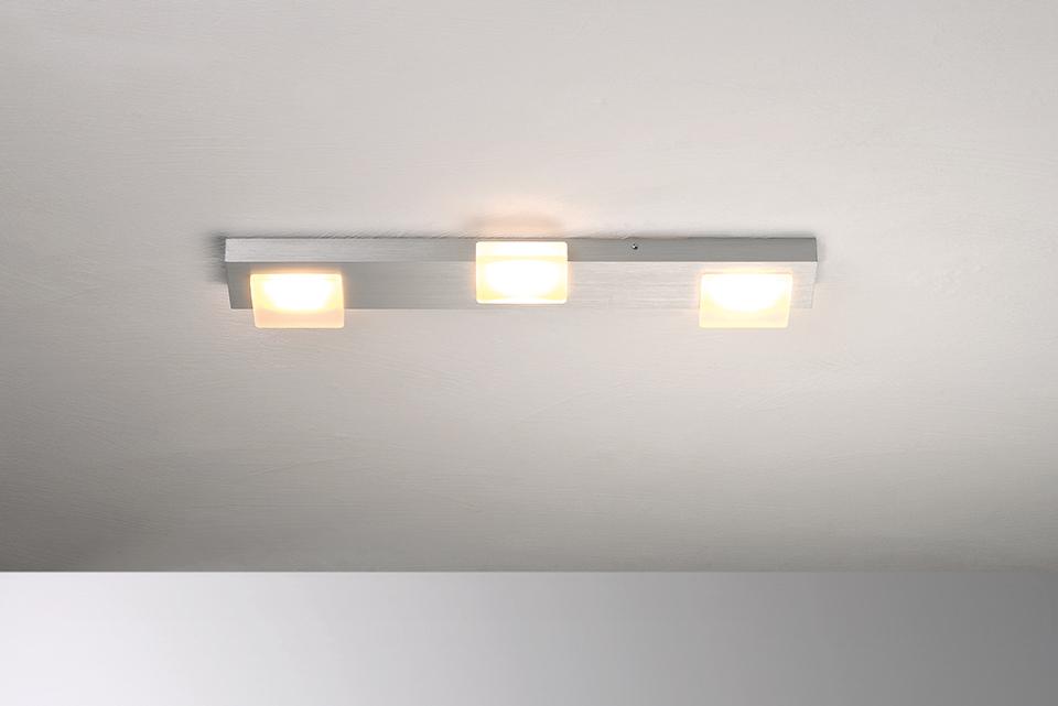 Bopp Leuchten Artikel von Bopp Leuchten Lamina LED-Deckenleuchte 3-flammig 60480309