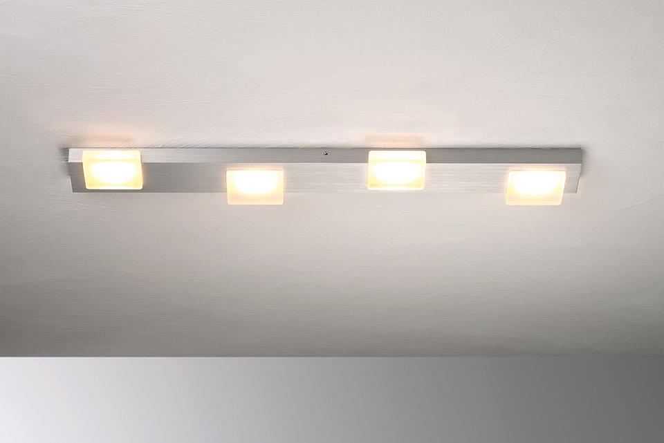 Bopp Leuchten Artikel von Bopp Leuchten Lamina LED-Deckenleuchte 4-flammig 60480409