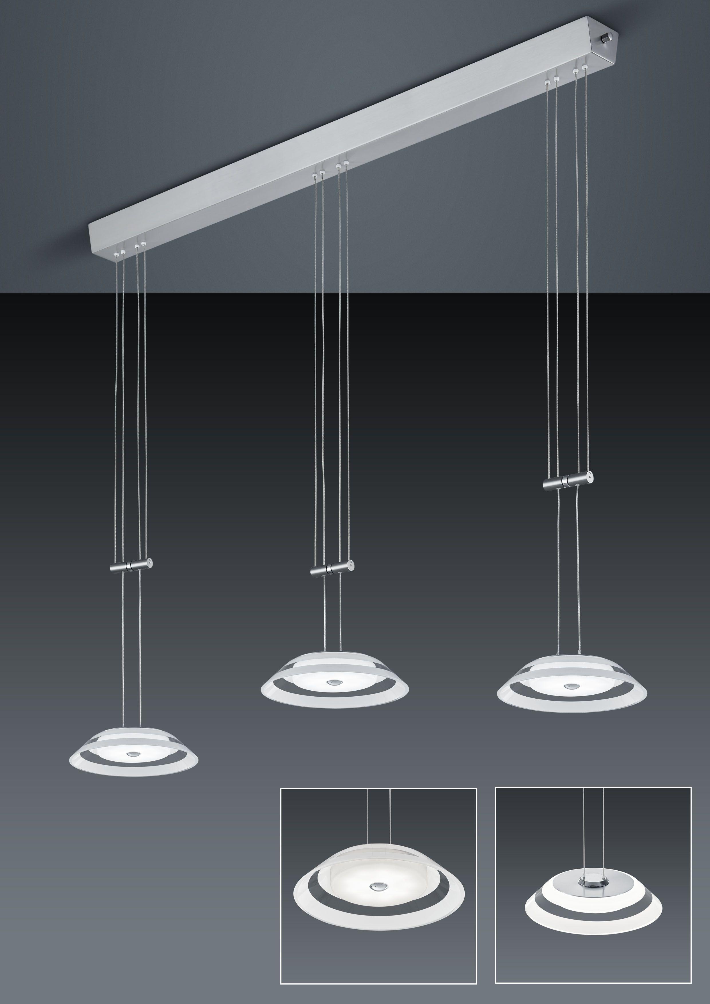 LED-Hängeleuchten von BANKAMP Leuchtenmanufaktur LED-Hängeleuchte Callas 2097/3-92