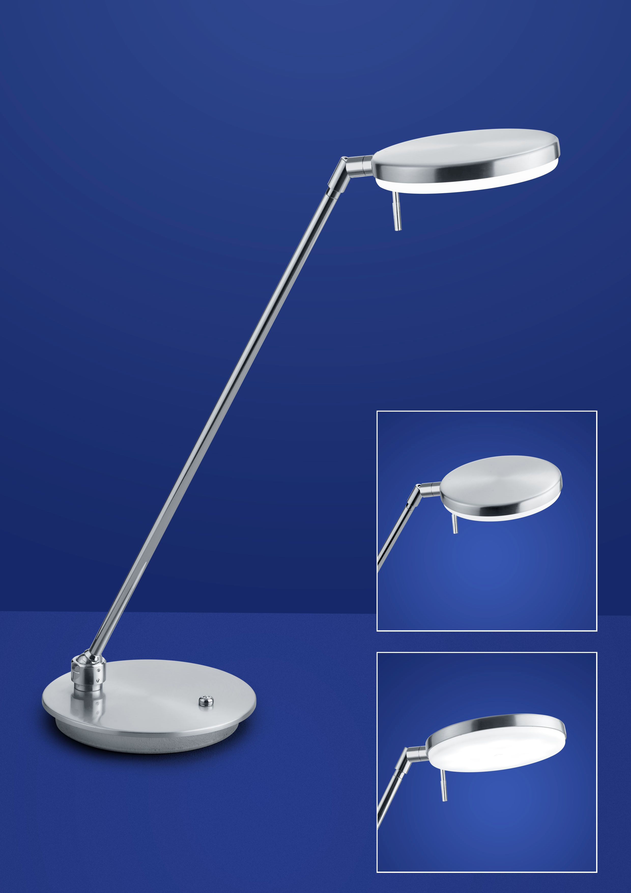 B-Leuchten Omega LED-Stehleuchte 60318/1-01 - LEUCHTENKING