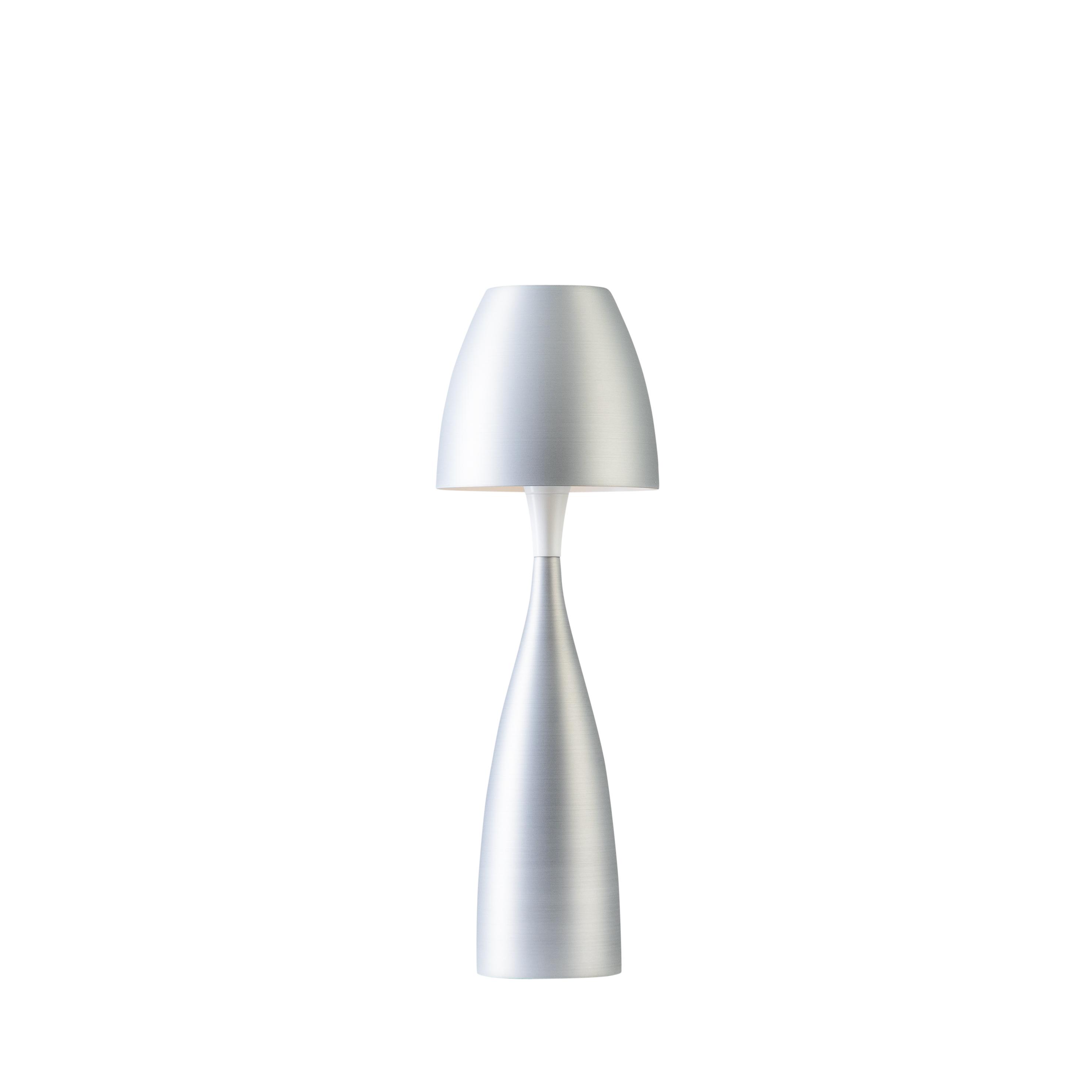 Belid Leuchten Artikel von Belid Leuchten Anemon Tischleuchte groß silber oxid 4105199