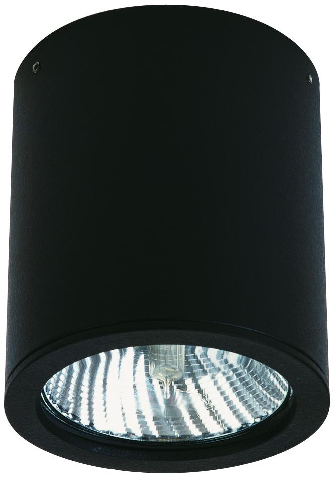 Deckenleuchten von Albert Leuchten Deckeneinbaustrahler, Alu, schwarz 662130