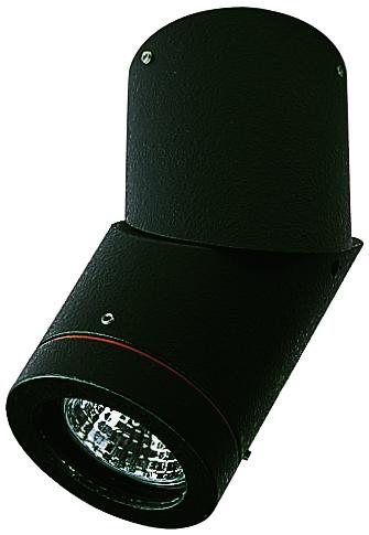 Deckenleuchten von Albert Leuchten Dreh-/ Schwenkstrahler, Alu, schwarz 662138