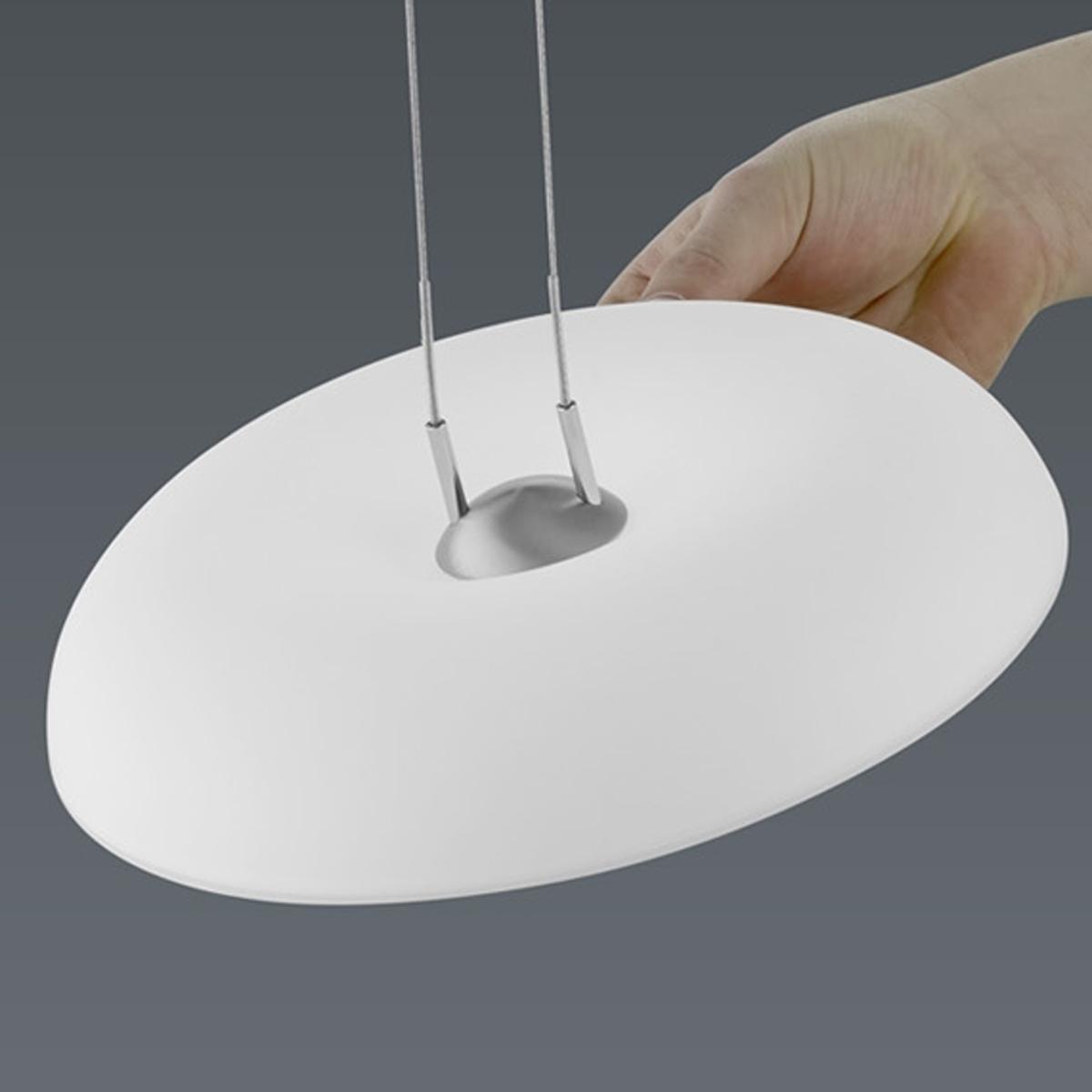 BANKAMP Leuchtenmanufaktur Artikel von BANKAMP Leuchtenmanufaktur LED-Pendelleuchte Vanity zur Strada 2144/1-92