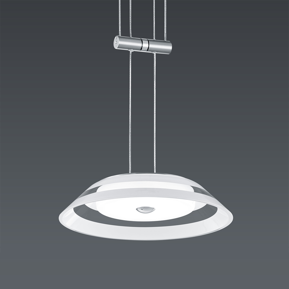 Hängeleuchten von BANKAMP Leuchtenmanufaktur LED-Pendelleuchte Callas zur Strada 2145/1-92