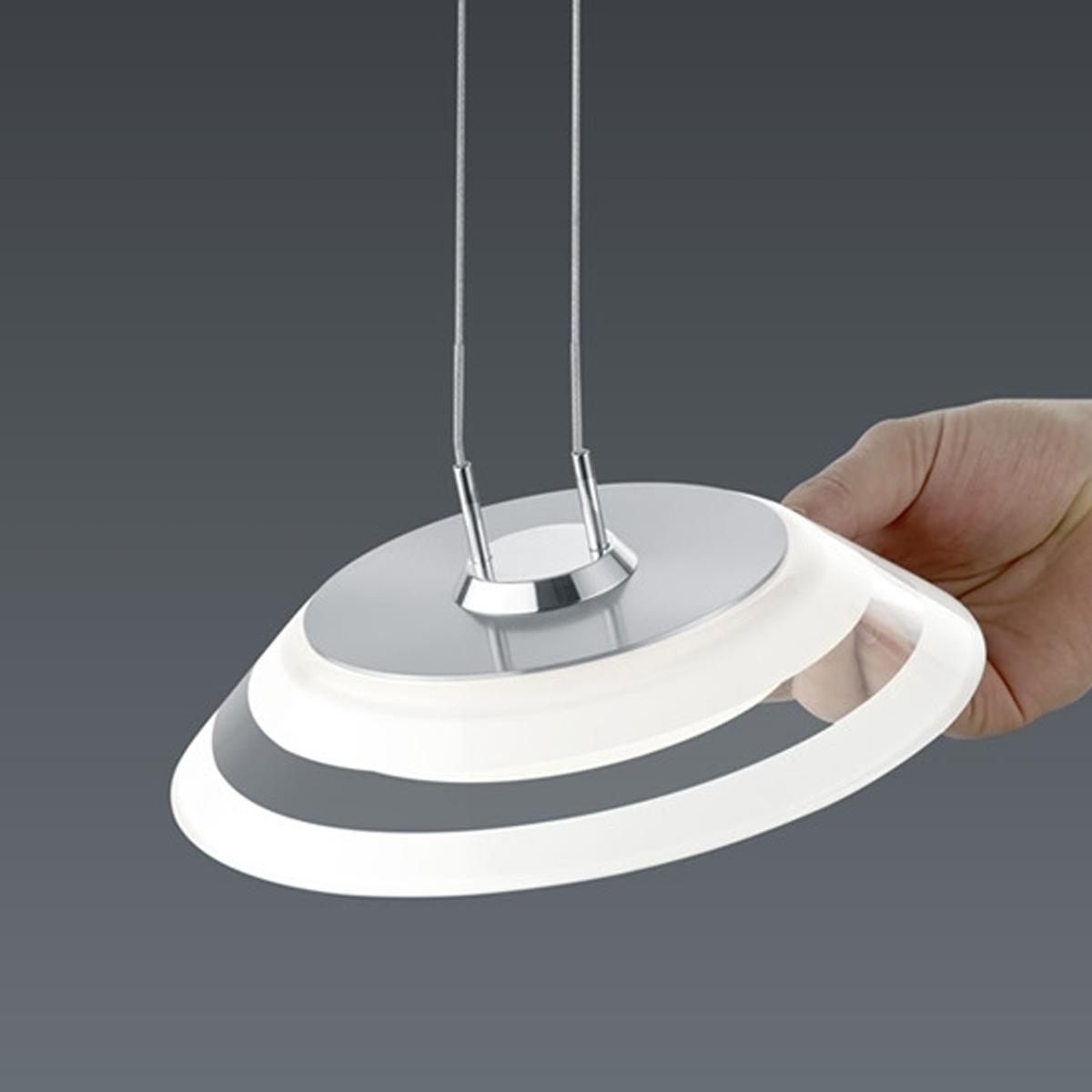 BANKAMP Leuchtenmanufaktur Artikel von BANKAMP Leuchtenmanufaktur LED-Pendelleuchte Callas zur Strada 2145/1-92