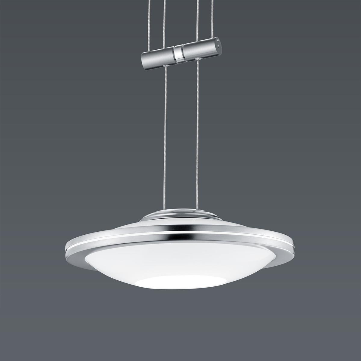 Hängeleuchten von BANKAMP Leuchtenmanufaktur LED-Pendelleuchte Saturno zur Strada 2146/1-92