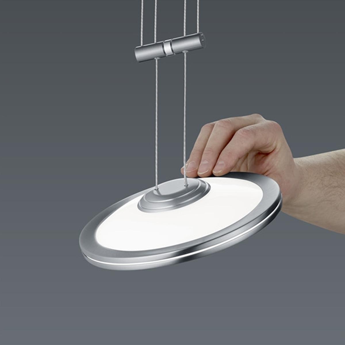 BANKAMP Leuchtenmanufaktur Artikel von BANKAMP Leuchtenmanufaktur LED-Pendelleuchte Saturno zur Strada 2146/1-92