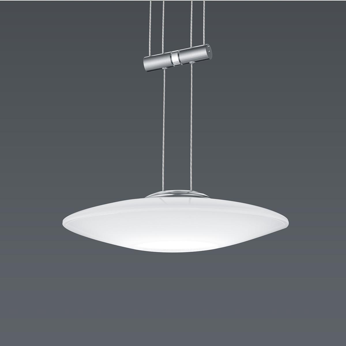 Hängeleuchten von BANKAMP Leuchtenmanufaktur LED-Pendelleuchte Orbit zur Strada 2147/1-92