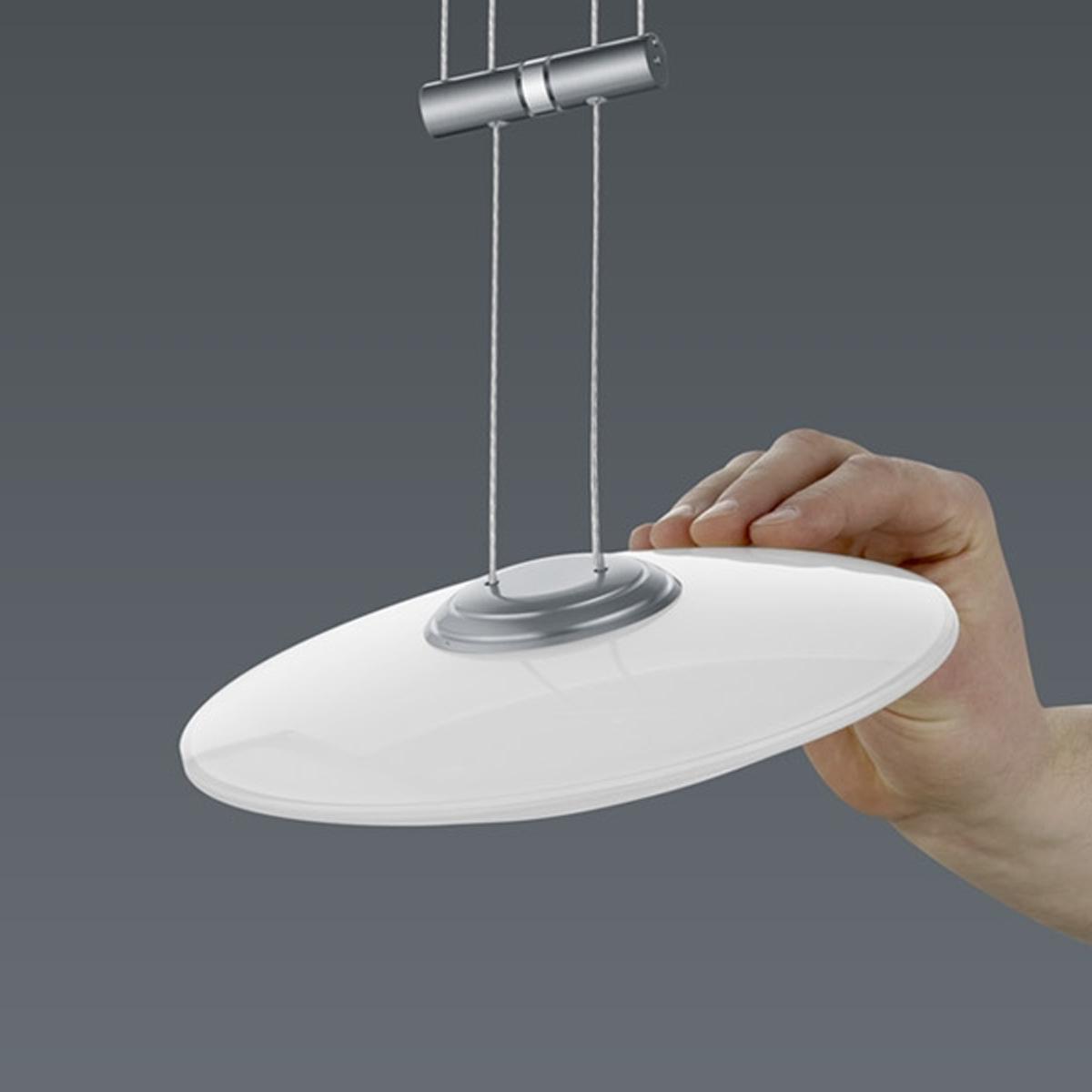 BANKAMP Leuchtenmanufaktur Artikel von BANKAMP Leuchtenmanufaktur LED-Pendelleuchte Orbit zur Strada 2147/1-92