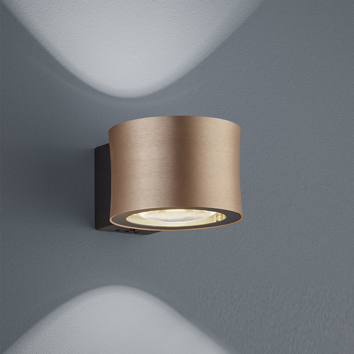 LED-Wandleuchten von BANKAMP Leuchtenmanufaktur LED-Wandleuchte Impulse 4325/1-74