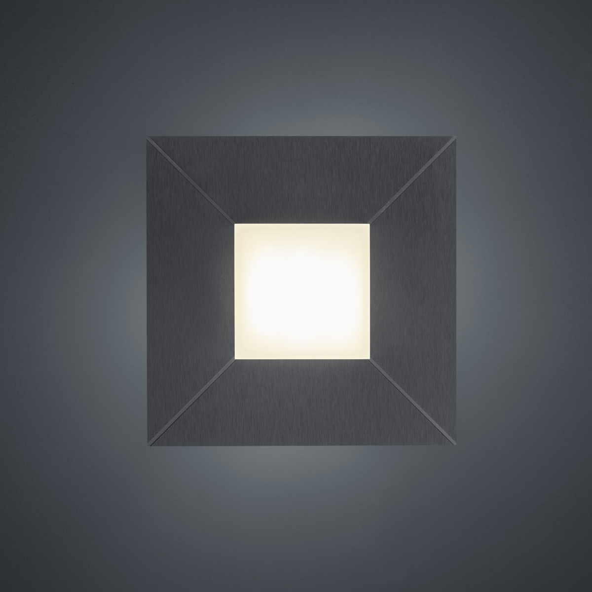 BANKAMP Leuchtenmanufaktur Artikel von BANKAMP Leuchtenmanufaktur LED-Deckenleuchte Diamond 7699/1-39