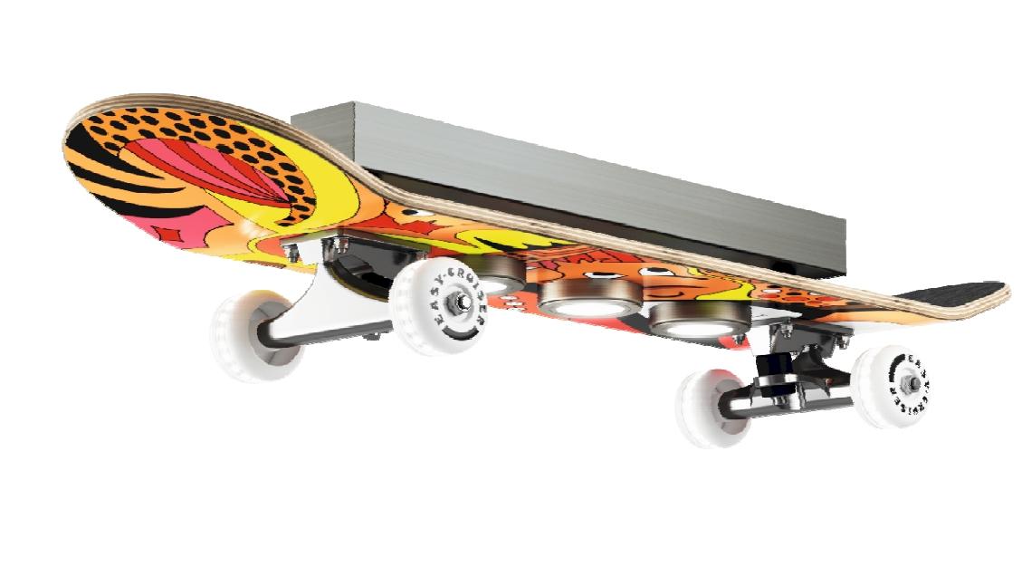 Deckenleuchten von Evotec Leuchten Skateboard LED-Deckenleuchte 15740