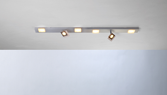 SESSION LED- DECKENLEUCHTE 6-FLAMMIG