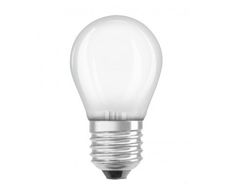 Standard E27 von UNI-Elektro Osram Parathom Classic Tropfenlampe E27 P 5W 827 Matt - Dimmbar - Extra Warmweiß LEDPCLP40D 5W/827 230VGLFR E27 10X1