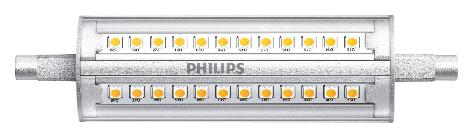 Halogenlampen R7s 114,2mm von UNI-Elektro PHILIPS CorePro R7S 118mm 14-100W 830 DIM CorePro R7S 14W 830