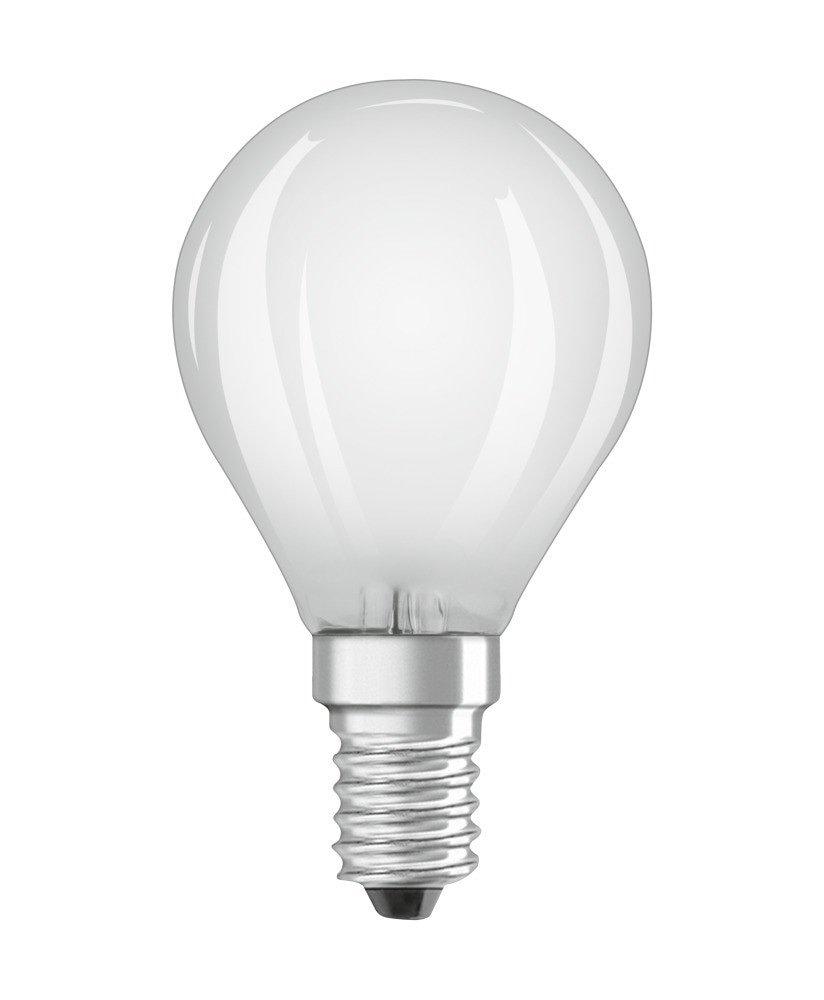 Standard E14 von UNI-Elektro Osram Parathom Classic E14 P 5W 827 Matt Dimmbar 470lm LEDPCLP40D 5W/827 230VGLFRE1410X1