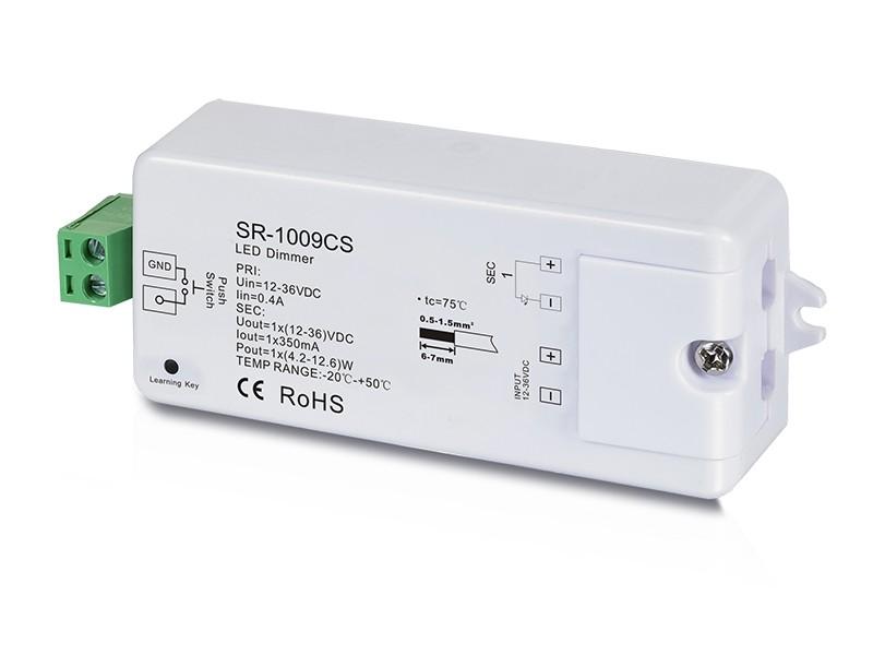 Dimmer von LED-KING LED Dimmer Funk Empfänger Konstantspannung SR-1009CS