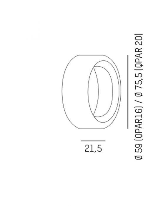 Systemleuchten von Molto Luce Dekoring 659-000012
