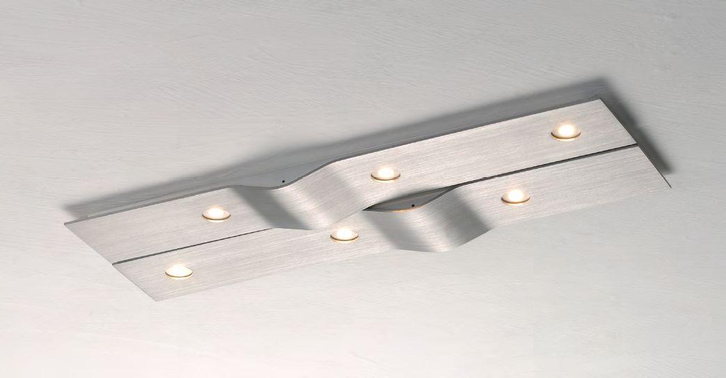 Wave LED Deckenleuchte/ 6 flammig von Bopp Leuchten