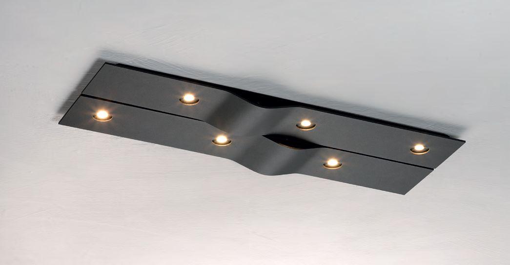 Bopp LeuchtenWave LED Deckenleuchte/ 6 flammig92680600