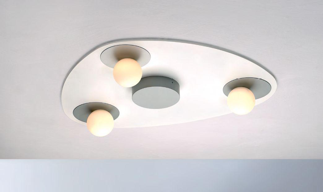 Planets LED Deckenleuchte/ 3 flammig von Bopp Leuchten
