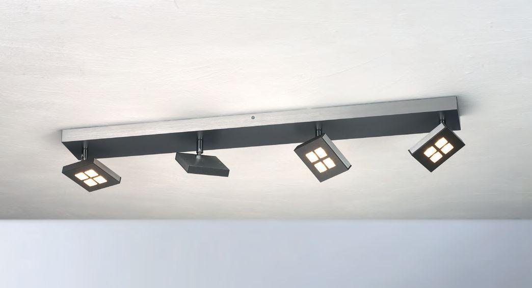 Gamma LED Deckenleuchte/ 4 flammig von Bopp Leuchten