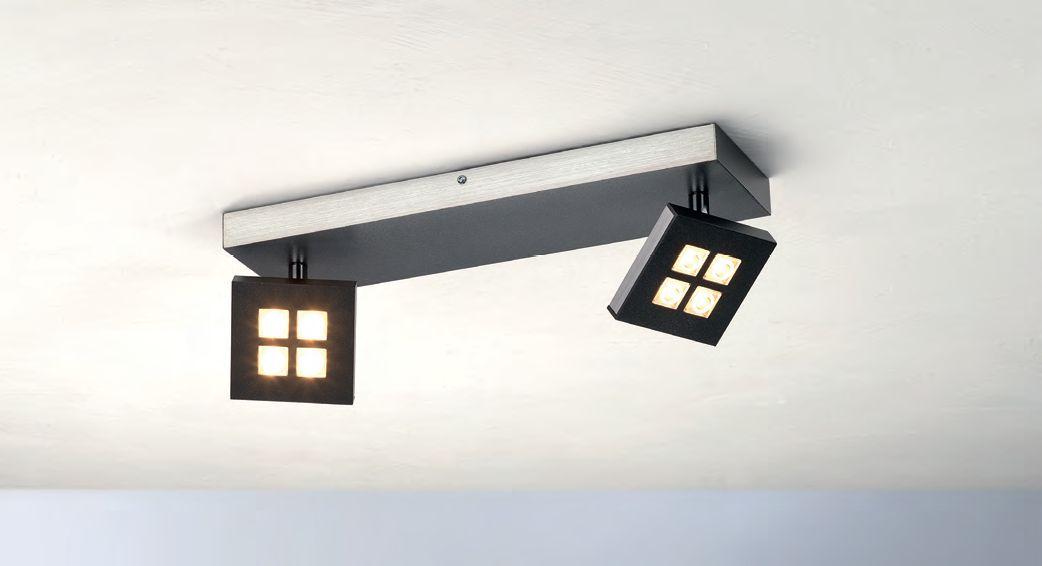Gamma LED Deckenleuchte/ 2 flammig von Bopp Leuchten