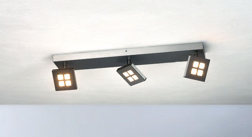 Gamma LED Deckenleuchte/ 3 flammig von Bopp Leuchten
