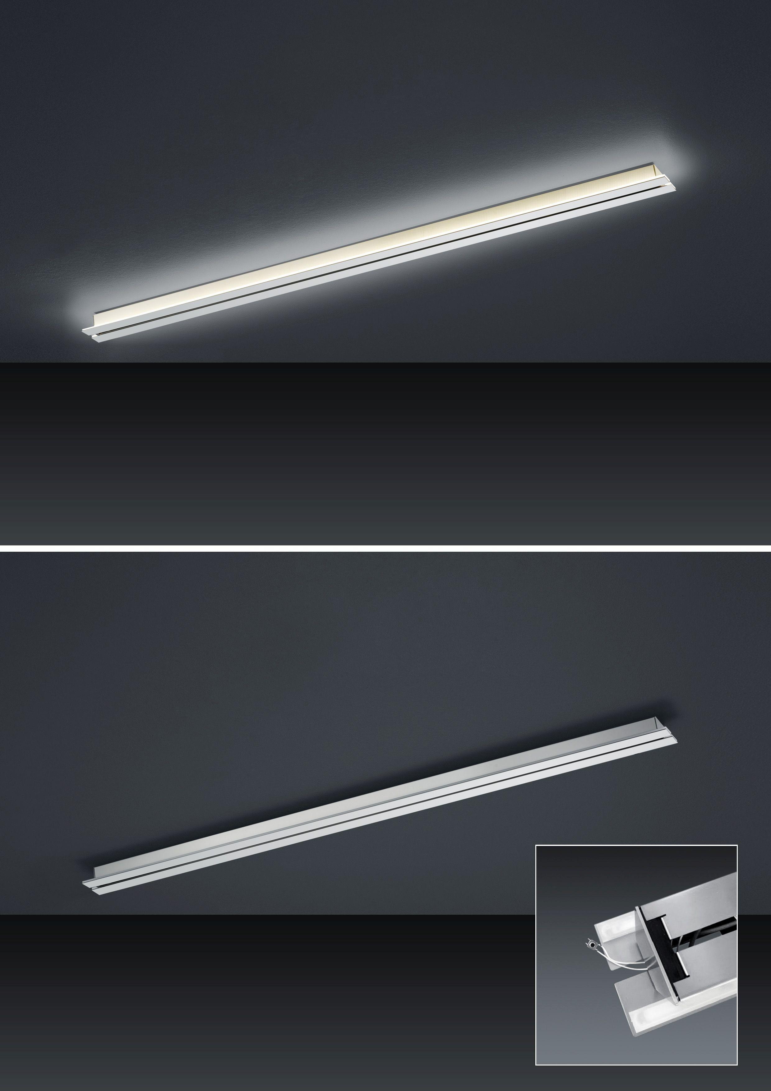 Strada up and down LED- Schiene 155cm mit Tastdimmer von BANKAMP Leuchtenmanufaktur