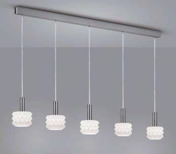 GAIN LED Hängeleuchte/ 5 flammig von Helestra Leuchten