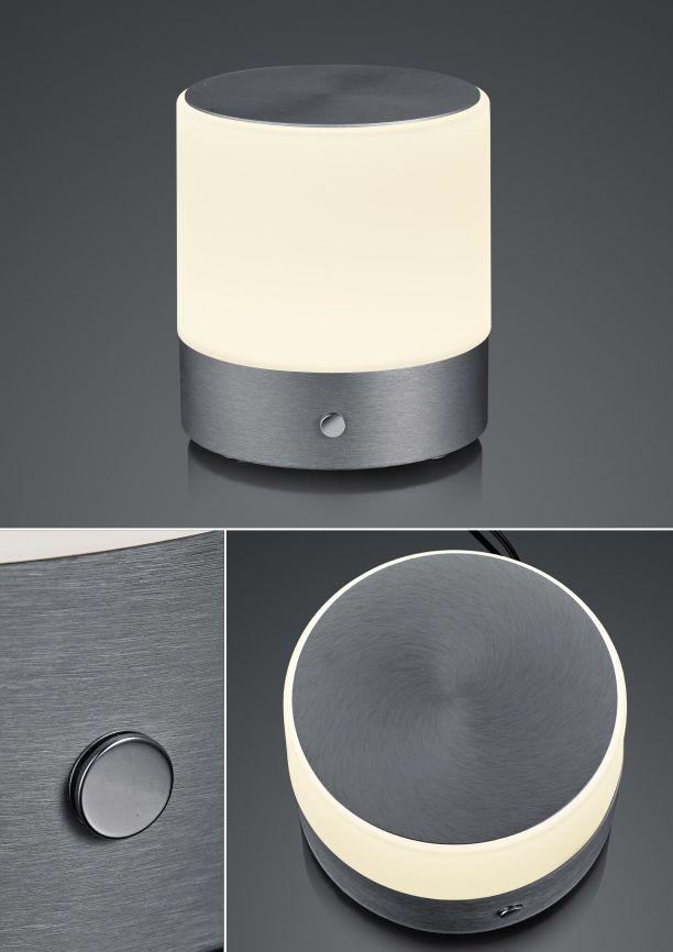 BANKAMP LeuchtenmanufakturButton LED-Tischleuchte/ groß5010/1-39